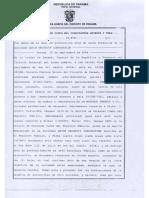 Escritura pública sobre transferencia de acciones de PHT