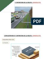 exploitation et entretien routier récapitulatif du cours