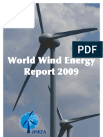 world wind energy report 2009