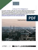 Challenge of UN Gaza Report