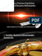 Tema 3-1 Distribuciones Multivariantes