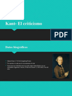 Kant- El criticismo