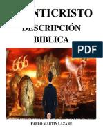 EL ANTICRISTO - Descripción Biblica