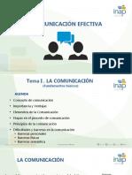 Presentación Unidad I La comunicacion