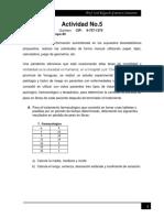 Actividad No 5- Bioestadística- Lourdes Quintero