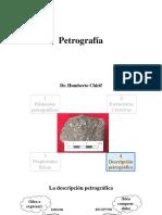 1.4b La Descripción Petrográfica