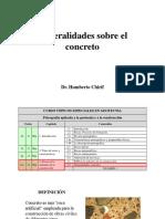 3.2 Generalidades Concreto