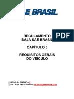 RBSB 5 - Requisitos Gerais do Veiculo - Emenda 4. ver02