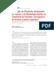Integração da Ortodontia  Fechamento de Espaço e da dontologia Estética no Tratamento de Pacientes c Agenesia de incisivos Lateral