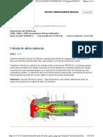FUNCIONAMIENTO DE VALVULAS DE ALIVIO 336DL