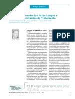 O Desenvolvimento da Faces Longas e Curtas e as Limitações do Tratamento