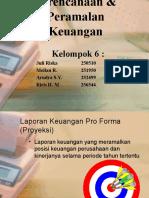 Perencanaan & Peramalan Keuangan