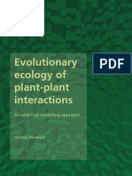 evolutionary ecology of plant-plant interaction