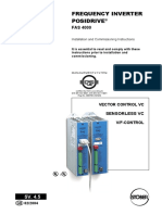 Fas4020 Fas 4000 Servo Drive Posidrive Stober Manual