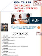 Conciliación Extrajudicial – Derecho Civil