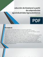 exposición de bioetanol