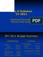 CY 2011 Budget Presentation Nick Trasente