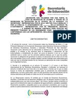Modelo de Convenio Marzo 2021, SEE-Ayuntamientos