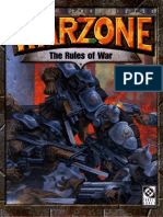 Rules of War (Warzone 2Ed)