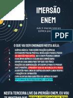 IMERSÃO ENEM - PDF DA AULA 3