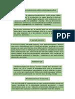 los recursos en la administración pública centralizada guatemalteca