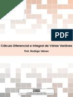 Notas de Aula - Calculo Varias Variaveis