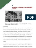 COLLOQUIO COL CAPO DELLA GUARDIA DI FERRO - Julius Evola