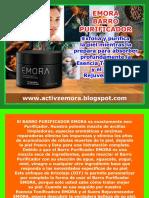 ACTIVZ EMORA BARRO PURIFICADOR