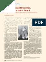Tracionamento dentário mitos, coincidências e fatos  Parte ll