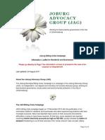 JAG - Billing Crisis Information Leaflet for Residents and Businesses
