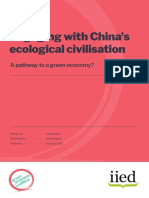Engaging with China's ecological civilisation