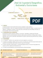 CLASE N°1 INTRODUCCIÓN AL CÁLCULO II