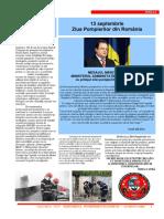 Revista Pompierii Buzoieni Cavalerii Cetatii - i.s.u. Buzau
