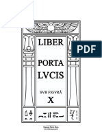 Liber Porta Lvcis - Sub Figura X