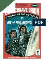 Espaçonave Orion - 01 - MZ 4 Não Responde
