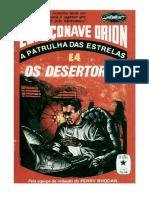 Espaçonave Orion - 04 - Os Desertores