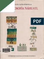 Miguel Leon Portilla La Filosofia Nahuatl