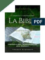 Franck Kvaskoff - Comment comprendre la Bible, 49p