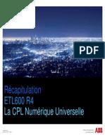 04 Récapitulation ETL600 R4