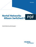 Nortel Networks Alteon Switched Firewall