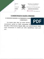 Voici la liste définitive des 2200 commandos recrutés par le BIR