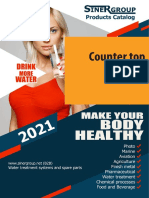 Counter top purifiers catalog