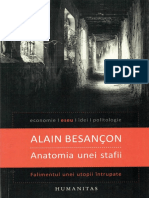 Alain Besancon - Anatomia unei stafii-Humanitas (2014)