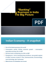 Banking - Doing Business in India, the big picture