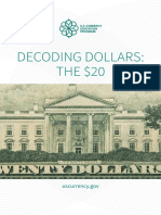 Decoding Dollars 20 Brochure and Poster
