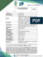 10.  Acta de SUSPENCION No. 3   DECRETO intventoria k21  06 JULIO