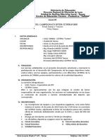 BASES CAMPEONATO INTERCETPROS  2019