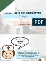 Arbeiten in der ambulanten Pflege