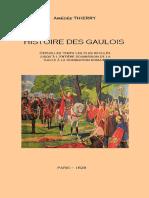 Thierry Amédée - Histoire Des Gaulois