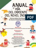 Manual Rol Del Docente Del Nivel Inicial